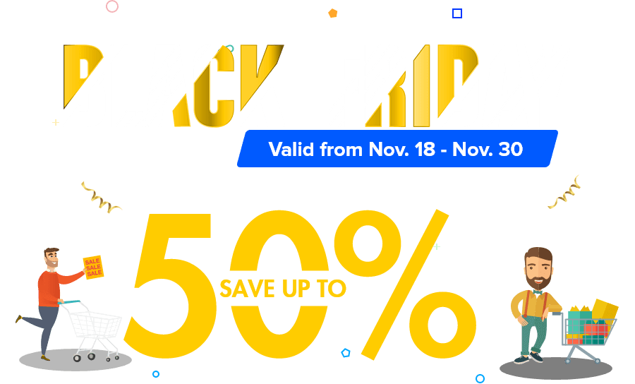 EaseUS Black Friday 50% OFF